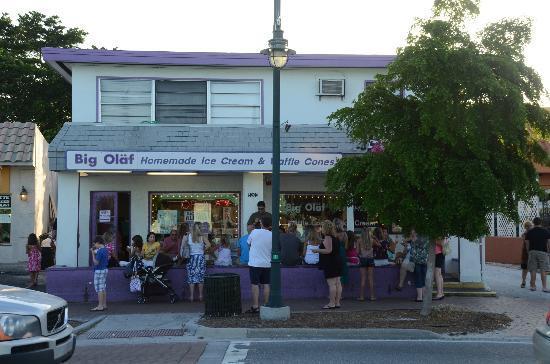 Big Olaf Creamery: Street view