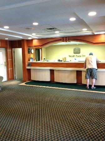 BEST WESTERN Valley Plaza Inn: Lobby
