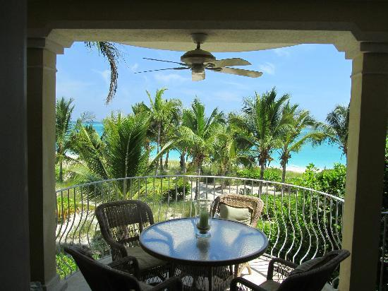Villa Renaissance: View from the fabulous balcony of Unit #202