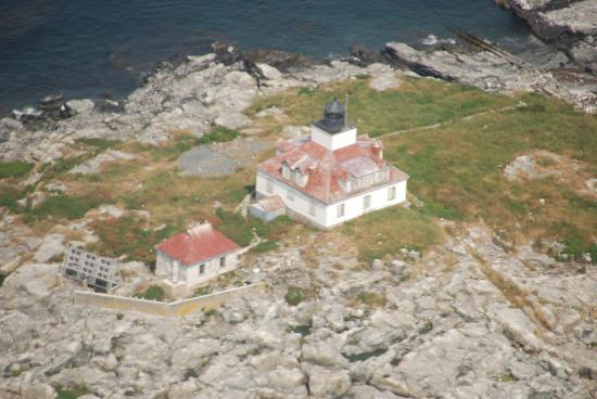 Scenic Flights of Acadia: Lighthouse