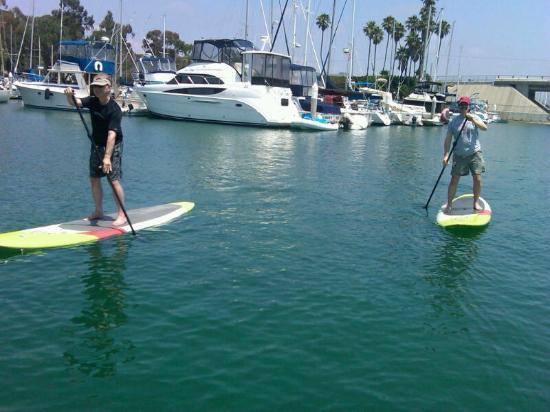 SUP Fitness Laguna in Dana Point Harbor