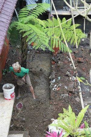 Fibra Inn And Bungalows: workers