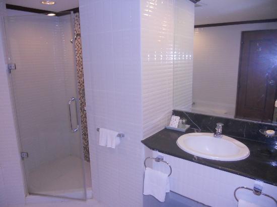Royal President: salle de bains baignoire + douche
