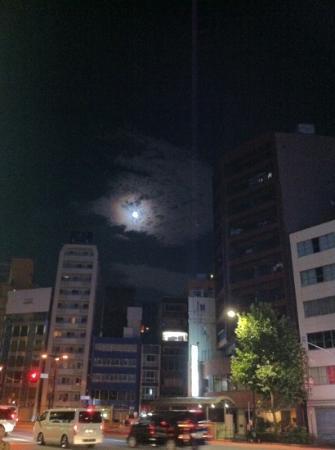 Hotel Nihonbashi Villa: 호텔앞