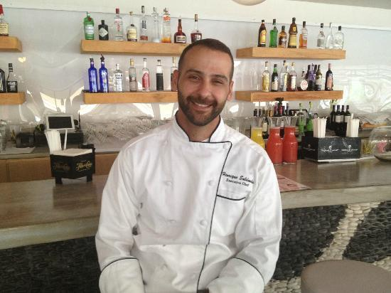 Beach Lounge Bar & Restaurant: Chef and owner Rico