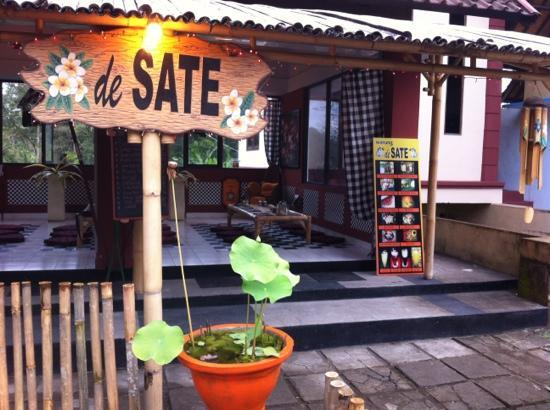 de SATE: Sate place I found in Denpasar