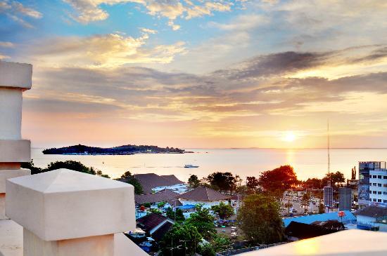 Hotel Laguna: Beautiful Evening at the Roof