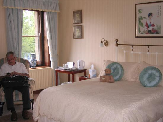 West Acre House: View of part of our room