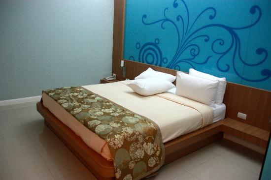 Lane Xang Princess Hotel : Comfortable bed