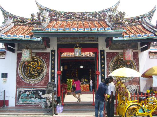 Cheng Hoong Teng Temple : チェンフンテン寺院