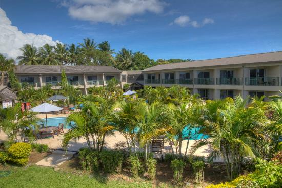 Tanoa Waterfront Hotel: Pool/ Garden View
