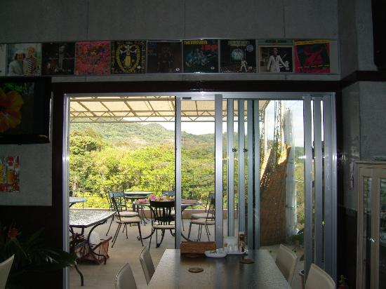 Hibis Resort : View from the dining area.