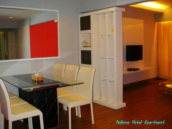 Malacca Hotel Apartment: 3 Bedroom Deluxe Type Apartment