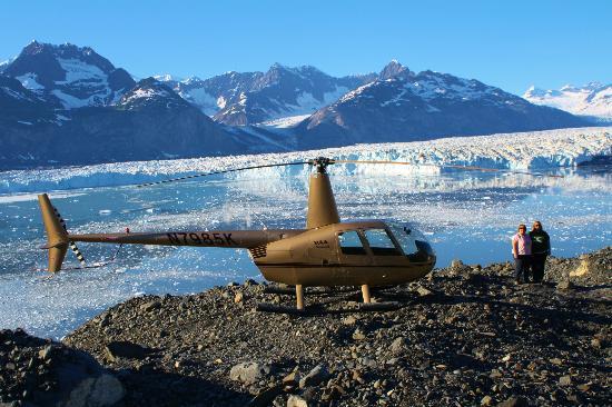 Columbia Glacier Quotcalvingquot  Picture Of VSHelicopters Tours Valdez
