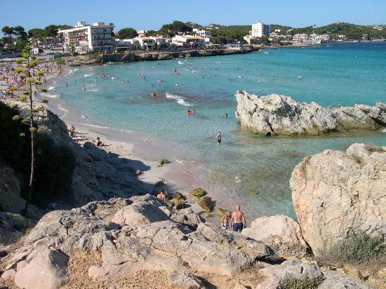 Hotel Bella Playa & Spa: Son Moll (un'altra spiaggia vicina all'hotel)