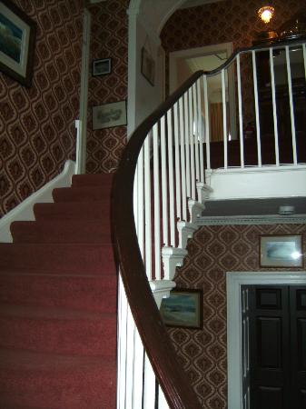 Priskilly Forest Country House with Golf Club: Grand Staircase