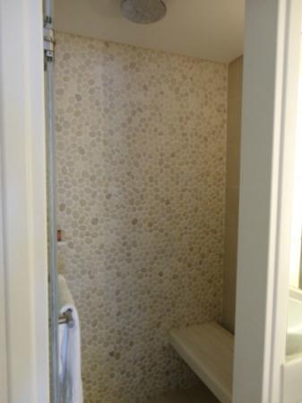Mykonos Grand Hotel & Resort: the shower, hammam in the superior room 