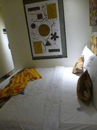 Jocs Boutique Hotel & Spa: big bed