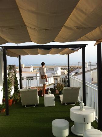 La Princesa y El Guisante Hotel: Terraza