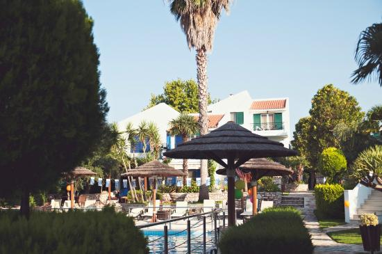 Paris Village Apartment Hotel: The pool area with apartments around