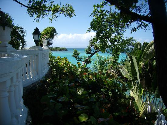 Luxury Bahia Principe Cayo Levantado Don Pablo Collection: Vistas desde la terraza de la recepción