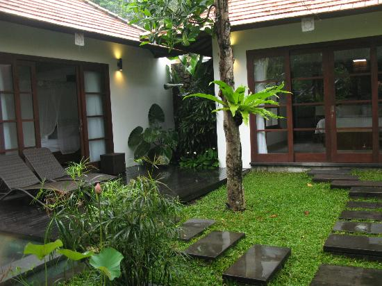 Bayad Ubud Bali Villa: Two bedroom villa with private pool (this one did not have kitchen or sitting area)