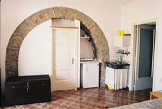 Cannicchio, Italie : Kitchen corner of The Blue Room