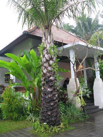 Bayad Ubud Bali Villa: Main entrance - Lobby and breakfast area