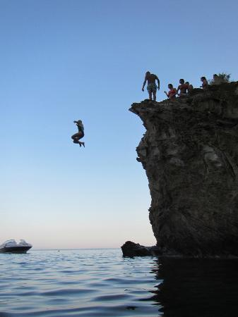 Meltemi Watersports: Cliff Jumping