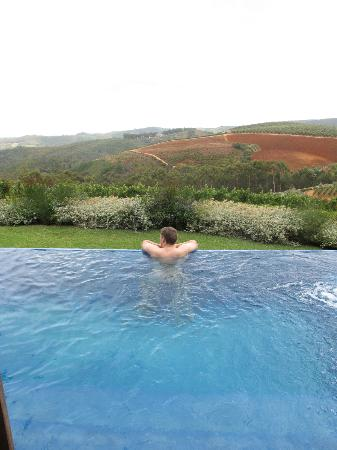 Delaire Graff Estate - Lodges and Spa: enjoying the view