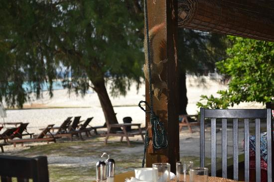 Coral Redang Island Resort: Breakfast company=)