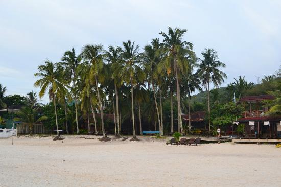 Coral Redang Island Resort: View from the beach
