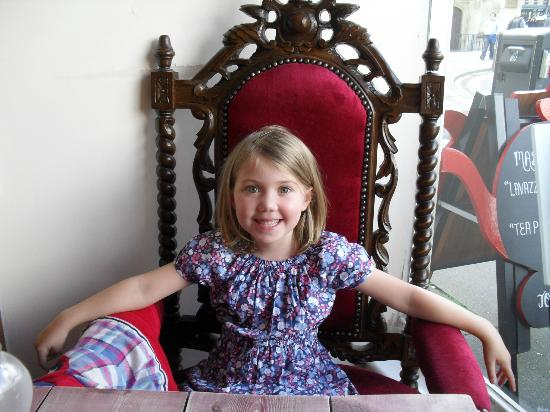 The Mad Hatteru0027s Tea Party Daughter obviously bagged the throne chair.  sc 1 st  TripAdvisor & Daughter obviously bagged the throne chair. - Picture of The Mad ...