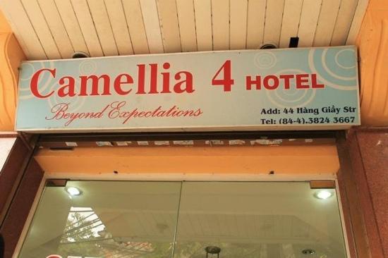 Camellia 4 Hanoi Hotel: Hotel Address