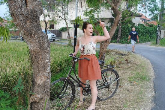 Villa Echo Beach: tourist daughter 