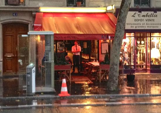 Alfio: A shot of the restaurant from across the street