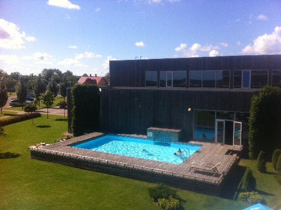 Georg Ots Spa Hotel: Outdoor pool