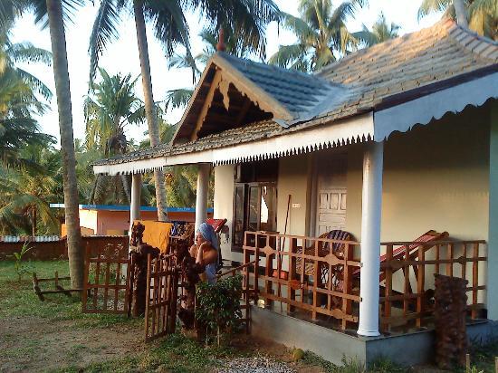Magnolia Guesthouse: Vår härliga bungalow