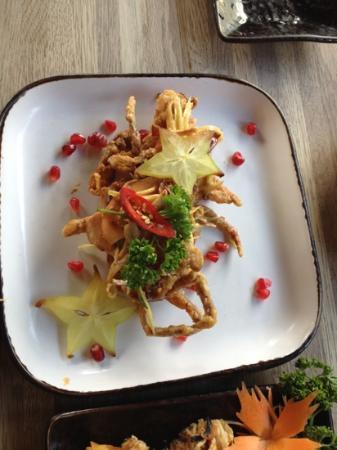 Mango Thai Tapas, Portswood : soft schell crab?:)