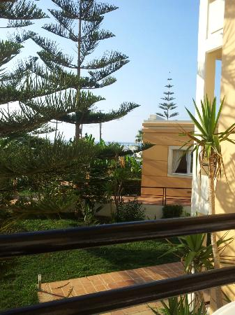 Mike Hotel & Apartments: Room with a seaview
