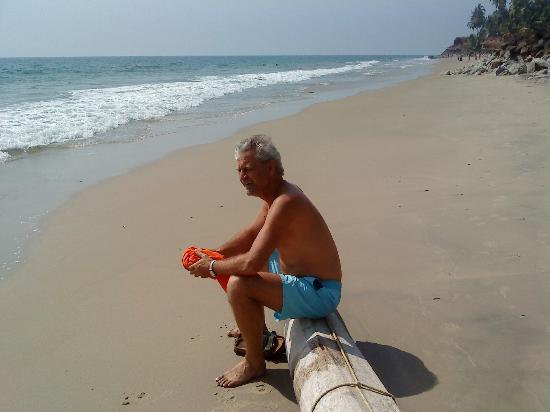 Magnolia Guesthouse: Lugnt och skönt på stranden