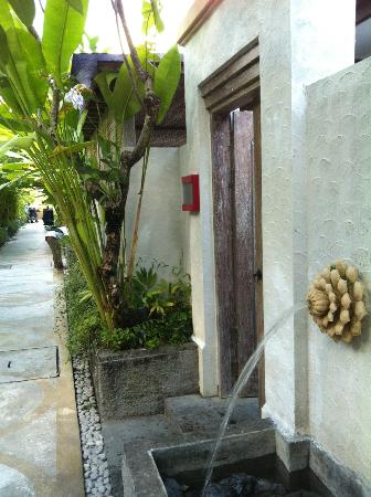Ivory Resort Seminyak: outside the room entrance