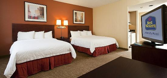 BEST WESTERN University Hotel Boston-Brighton: Guestroom