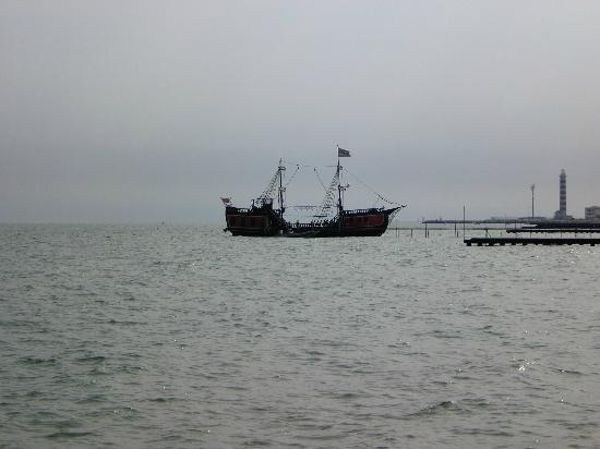Hotel Frank: Piraten Schiff
