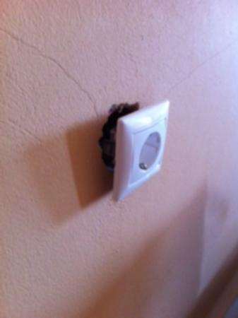 Santa Catherina Hotel: everytime you unplugged something - this happened!
