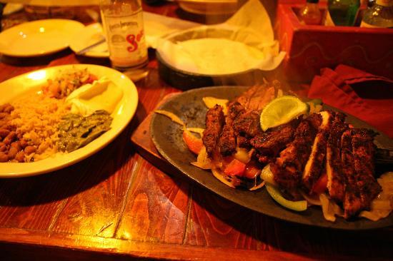 Zuma Tex-Mex: Fajitas au poulet