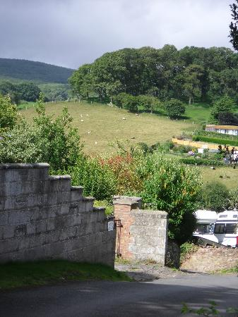 The Old Cider House: View at the start of the walk
