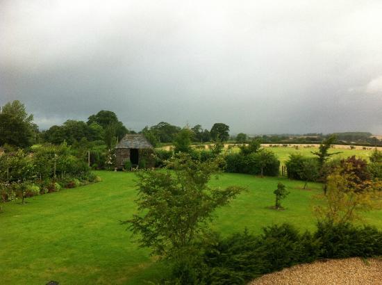 Carents Farm: view of garden