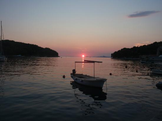 Villa Ivy: Sunset in Cavtat