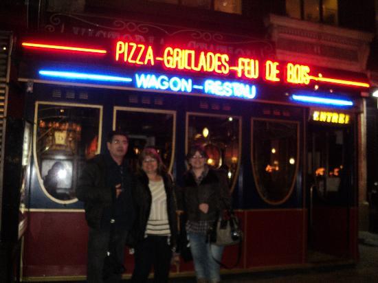 Restaurant Train Passage Paris